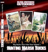Hunting Marsh Bucks DVD